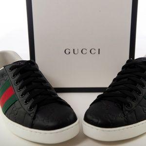 100% Authentic Gucci Ace Sneaker Men's size 5.5